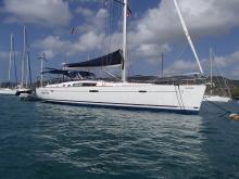 Bénéteau Oceanis 49 : Mouillage en Martinique